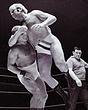 Harry Kendall v Alan Dennison(leotard)   edited  31Aug69.jpg