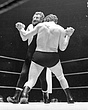 Jean Ferre( the young Andre the Giant)v Elrington(leotard)1 RAH  edited  28May69.jpg