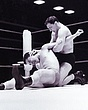 Lan Hurst v Peter Szakacs(black Trunks)2  edited  Dec66.jpg