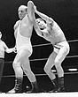 Mike Eagers v Alan Dennison(leotard)  edited  31Aug69.jpg