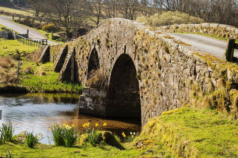 Bridge at Two Bridges - Dartmoor - Devon - England.jpg