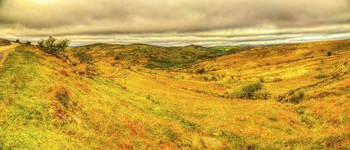 Moorland view looking toward Hexworthy -Dartmoor National Park - Devon - England.jpg