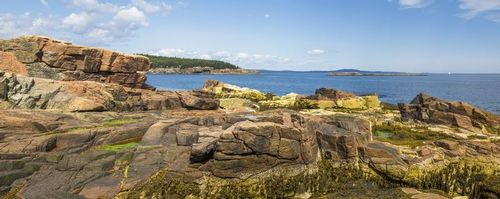 Panoramic view of rock formations in Acadia National Park - Maine - USA.jpg