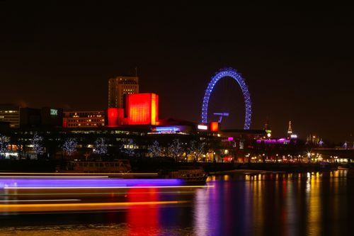 South Bank Centre and the London Eye from the Thames North Bank - London.jpg