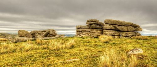 View of Combestone Tor - Dartmoor National Park - Dartmoor - Devon.jpg
