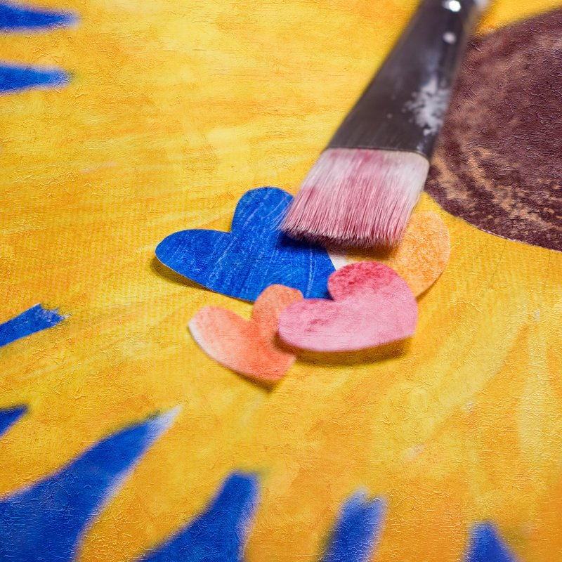 Painting Hearts with Love.jpg :: ©2010 LKG Photography