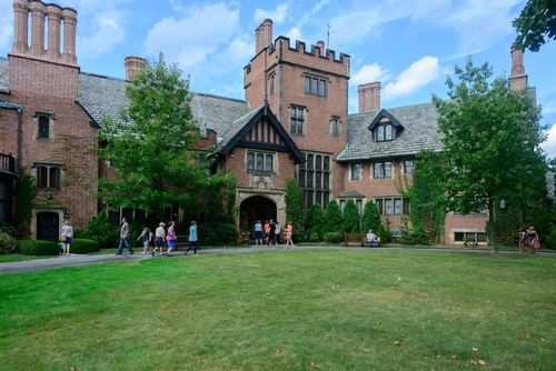 Stan Hywet Hall & Gardens Stock Photo Images