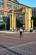 FX66L95 Arch from Union Station in the Arena District.jpg