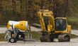 2900 Oct 11 Although summer-fall constructions is ongoing two new fan guns arrive.jpg