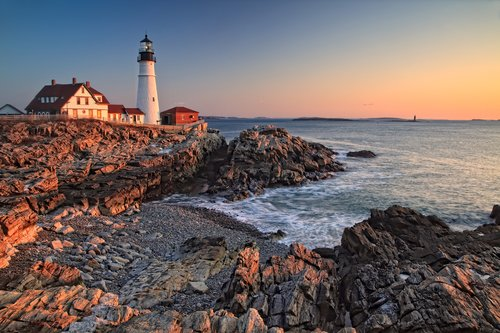 Golden Morning at Portland Head Light.jpg