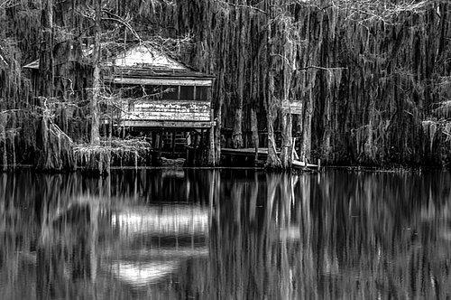 Caddo Lake Tea House BW.jpg
