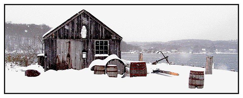 Chubbs-Wharf-January.jpg :: Winter on Chubbs Wharf