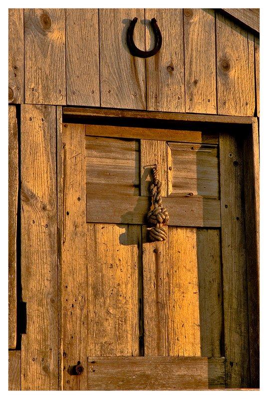 clam shack door.jpg :: Mystic - Weather worn wood of a clam shack .
