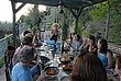 Virginia Ryan studio visit-evening discussion and meal in Umbria.jpg
