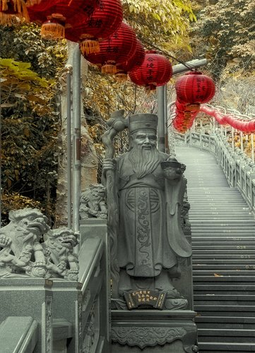 Taiwan Huiji Temple entrance 2.jpg