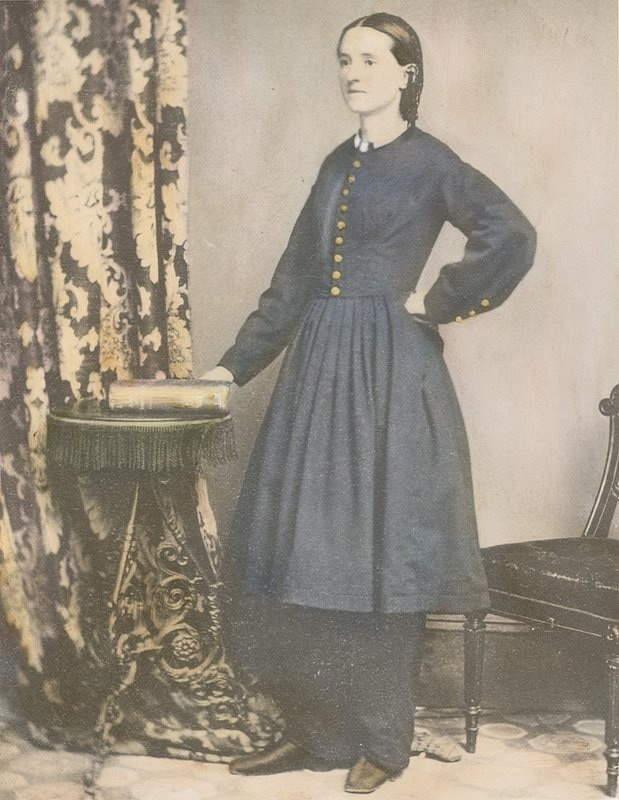 Mary Walker.jpg :: Dr. Mary Edwards Walker, first female surgeon in the US Army, 1863