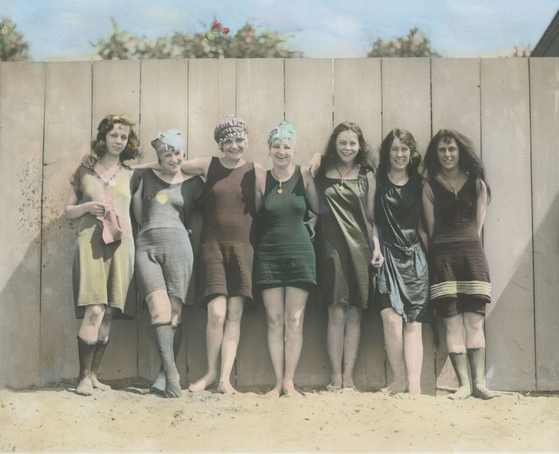 BeachConteston1923.jpg :: The Beach Contest, 1923