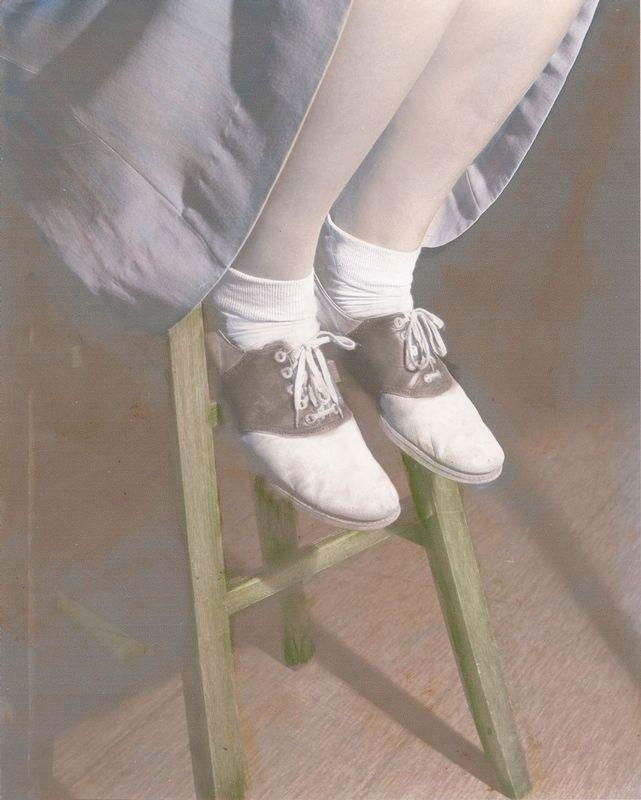 saddleoxfords1950.jpg :: The Saddle Oxfords, 1950