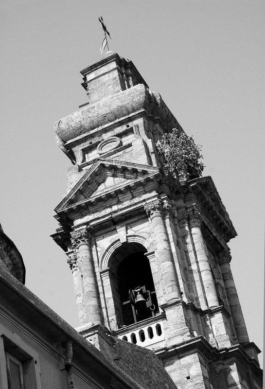 Bell Tower Caltagirone Sicily.jpg ::  Bell Tower Caltagirone Sicily