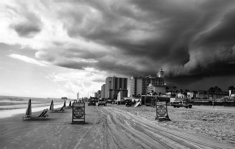 Daytona Beach Florida Big Storm.jpg :: Daytona Beach Florida Big Storm