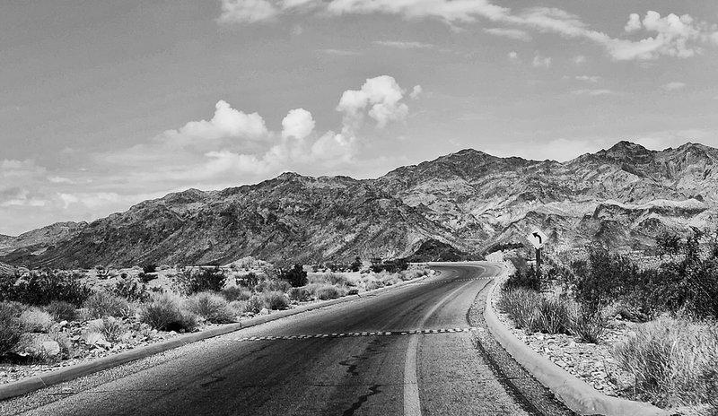 Lonely Road Las Vegas Nevada.jpg :: Lonely Road Las Vegas Nevada