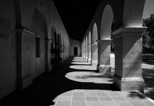 Junipero Serra Museum at the site of the original mission atop Presidio Hill in San Diego Ca.jpg