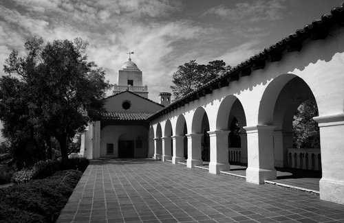 Junipero Serra Museum at the site of the original mission atop Presidio Hill in San Diego..jpg