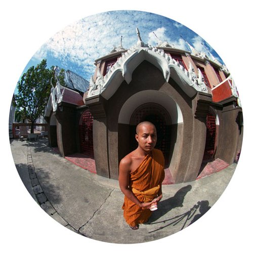 Buddist Monk-Bangkok-9 Inch Circle- Printed With Archival Paper And Ink-Edition 5.jpg