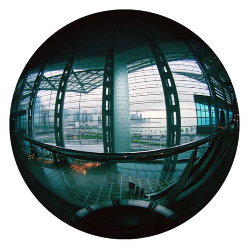 Convention Center-Kowloon-9 Inch Circle- Printed With Archival Paper And Ink-Edition 5.jpg