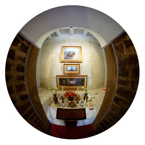 Prayer Room-Bangkok-9 Inch Circle- Printed With Archival Paper And Ink-Edition 5.jpg