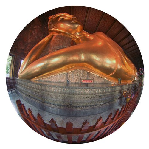 Reclining Buddha-Bangkok-Thailand-9 Inch Circle- Printed With Archival Paper And Ink-Edition.jpg