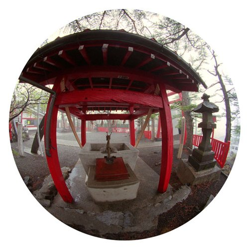 Shinto Shrine Japan2-9 Inch Circle- Printed With Archival Paper And Ink-Edition 5.jpg