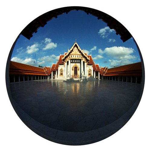 Temple-Bangkok 2-9 Inch Circle- Printed With Archival Paper And Ink-Edition 5.jpg