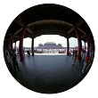 Forbidden City-Beijing-9 Inch Circle- Printed With Archival Paper And Ink-Edition 5.jpg