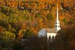 Church Steeple and Fall Colors Stowe Vermont (VT-74975).jpg