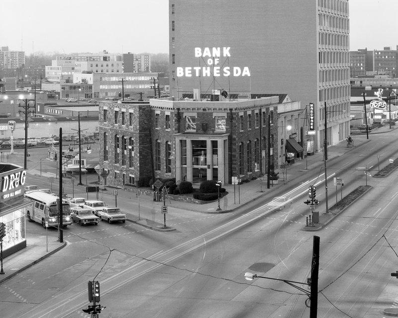66-03-22 Bank of Bethesda Wisconsin Ave Old Georgetown Rd  1966.jpg