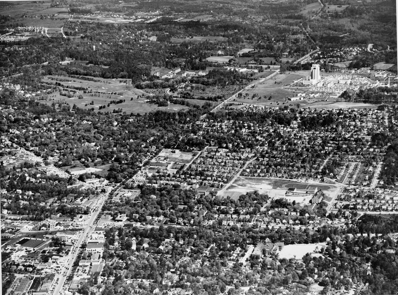 A136A-2 Aerial Photo Bethesda Wisconsin Naval Medical Center 1948.jpg