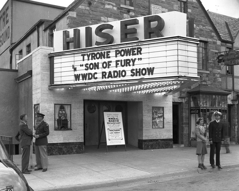 A876-1 Hiser Theatre Wisconsin Ave.jpg :: Hiser Theatre on Wisconsin Ave