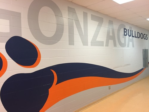 St Aloysius Gonzaga CSS gym entrance mural7.jpg
