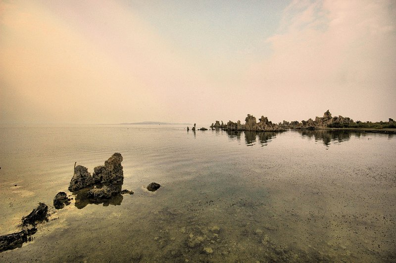 Mono Lake 14.jpg :: The lake is about two and one half times as salty as the ocean.