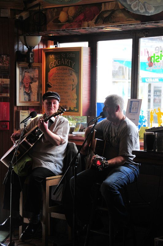 The Pub.jpg :: One of many pubs in Dublin. Not only can one quench his thirst but also grab a pub meal. Pubs are the most popular eating places in Ireland