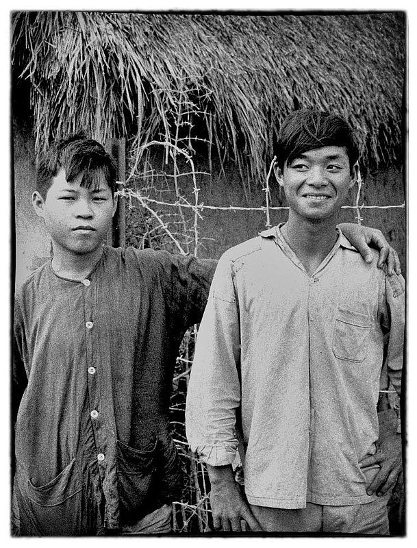 A request.jpg :: Take our picture GI, the Vietnamese are a friendly people especially the children who are curious and unafraid of approaching you. The younger Vietnamese are fairly fluent in English and are anxious to communicate.