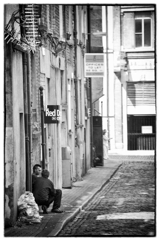 Dublin.jpg :: Dublin streets especially the back streets speak volumes about the lives of its people,  their daily chores and  their culture.