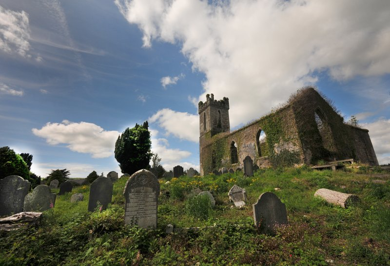 Graveyards.jpg :: The rural landscape of Ireland is dotted with graveyards and remnants of old churches, many no longer serve as a final resting place for it's people, sadly most have been abandoned and as time passes their history and the history of it's residents will also