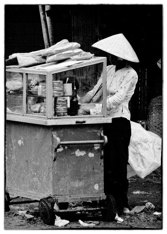 Vietnamese Street Carts.jpg :: Scattered throughout Vietnam are what the American GI's called Howard Johnson's serving Vietnamese street food.