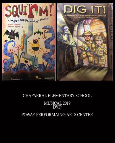 2019 SCHOOL MUSICAL DVD - Poway Performaing Arts Center