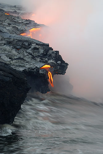 1010097693x Beautiful Hawaii Volcano Lava Flow Photography By