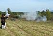 Musket Firing 001 at 231st Anniversary Reenactment Taken 9-20-08.jpg