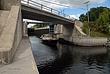 Sailboat Departing Hudson-Champlain Canal Lock 5 at Schuylerville Taken 9-15-08.jpg