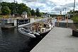 Sailboat Entering Hudson-Champlain Canal Lock 5 at Schuylerville Taken 9-15-08.jpg